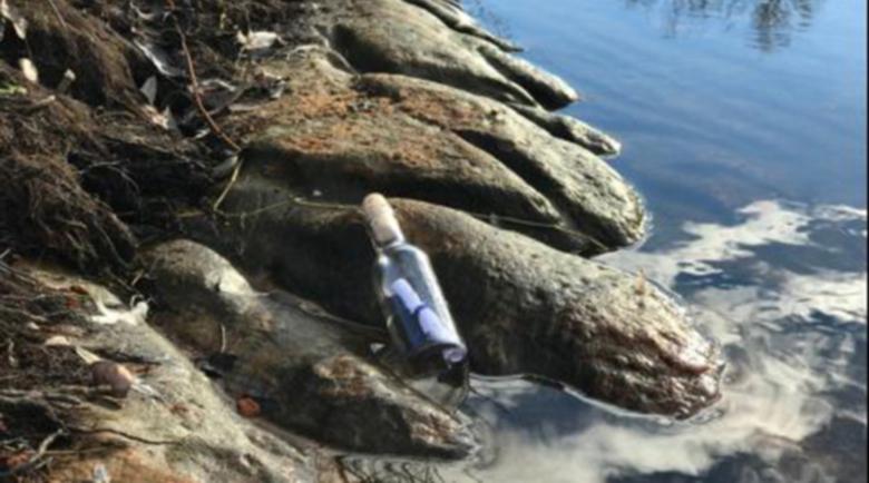Писмо в бутилка спаси американци от сигурна смърт