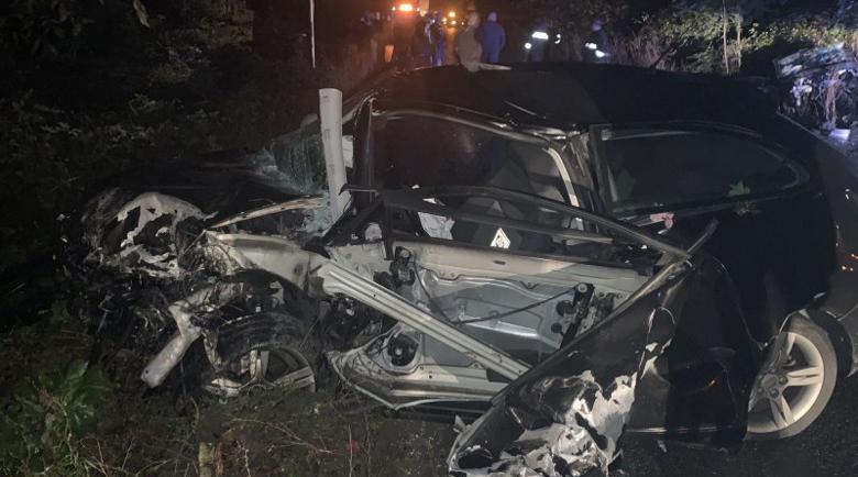 Дрогиран шофьор уби млад мъж и рани 4-ма при челен удар