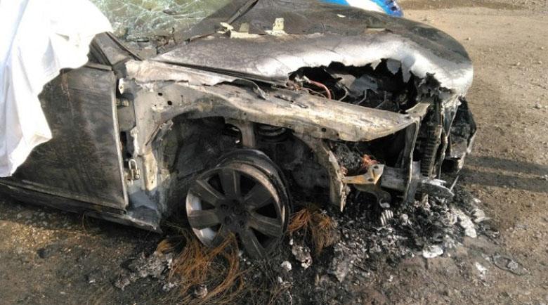 """Екшън в квартал """"Дружба"""": Запалиха една кола, изгоряха три"""