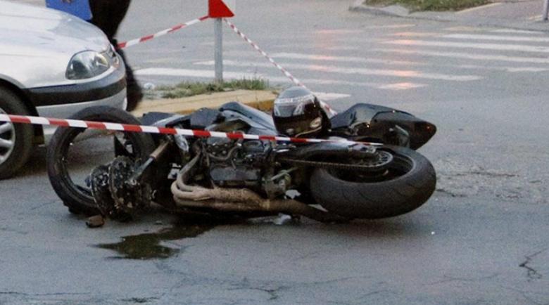 Катастрофа в Благоевград, мотоциклетист е пострадал