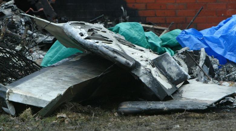 Никой не оцеля при падането на военен самолет в Русия
