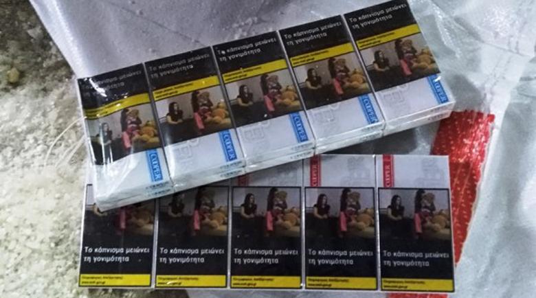 Заловиха служителка на КАТ с контрабандни цигари