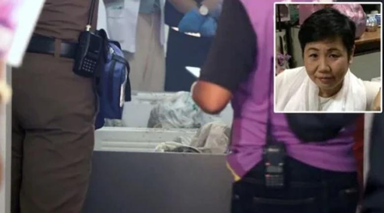 Откриха трупа на убита милионерка, залят с бетон във фризер