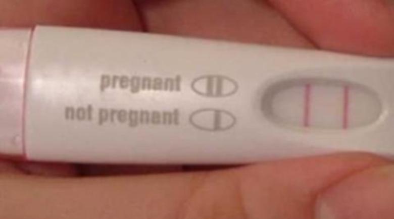 Продава се… положителен тест за бременност в интернет