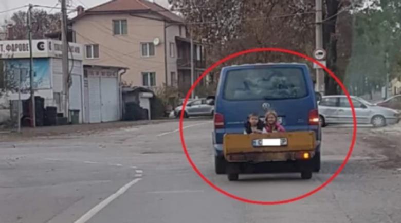Мрежата настръхна срещу столичен шофьор заради децата му