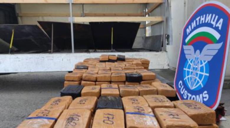 """На """"Дунав мост"""" заловиха хероин за 1,5 млн. лева"""