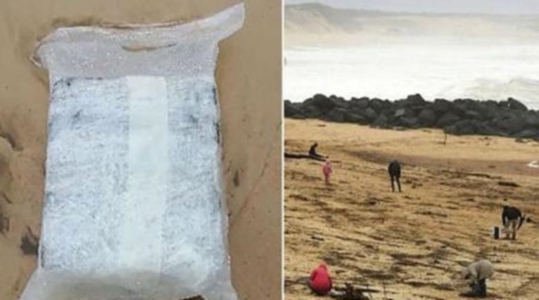 Планина от кокаин на брега на Атлантика