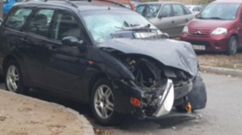 Каскадьорката, врязала колата си в магазин, била пияна от сутринта