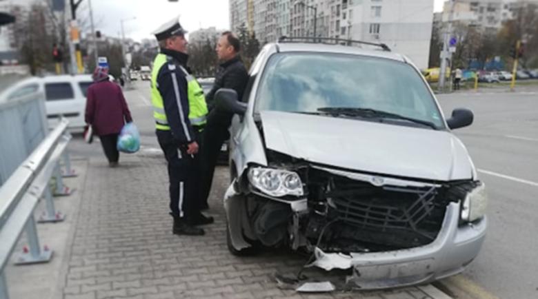 Две коли се удариха край Герена