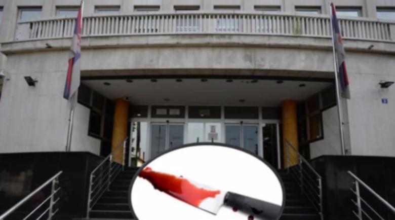 Сръбски мафиот си преряза врата в съдебната зала