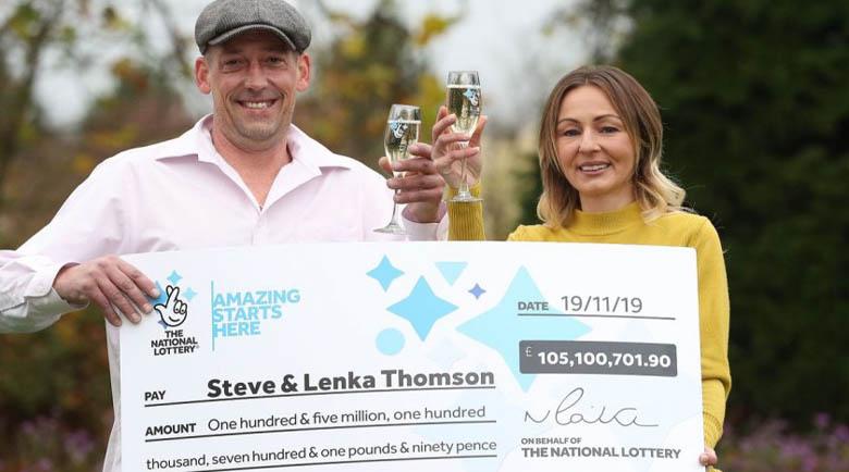 Строител спечели £105 млн. и аха! да получи инфаркт