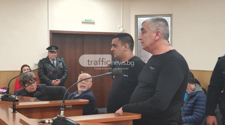 Кадри показват убийството на Венцислав Младенов в съда