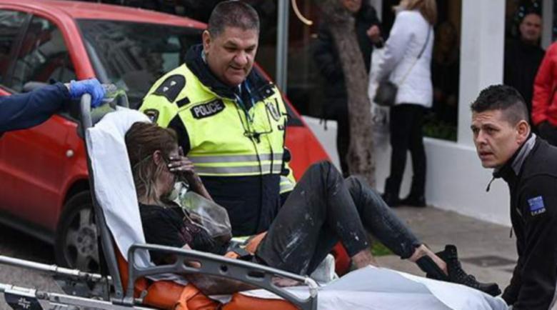 20 души са били спасени в пожара в хотел в Атина, трима  са настанени в болница