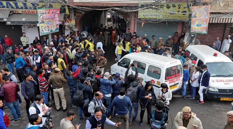 Пожар изпепели най-малко 43 души в Индия