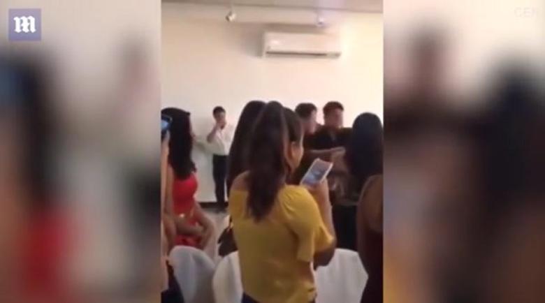 Любовница откачи на сватба, нападна булката