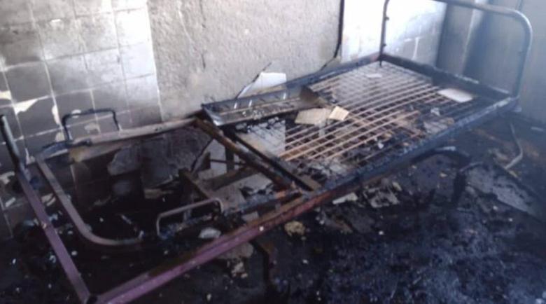 Пожар евакуира пациенти от университетска болница