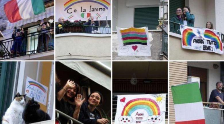 Италия въстана срещу коронавируса с песни от балконите