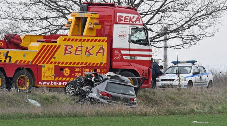 Шофьор загина при челна катастрофа на Околовръстния път край София