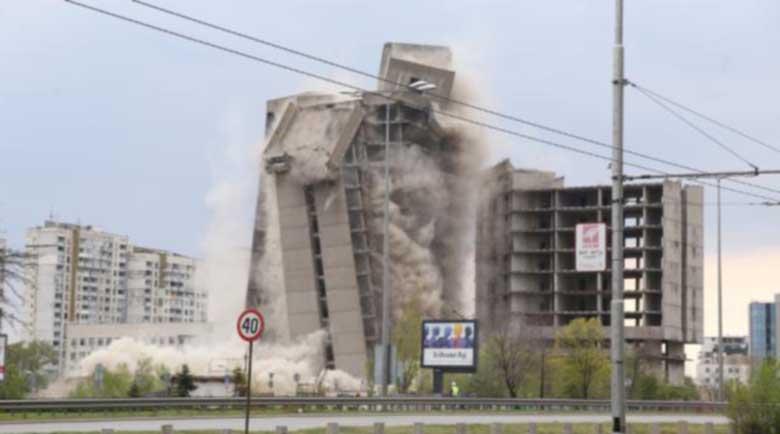 """Високата сграда на ИПК """"Родина"""" е в историята"""