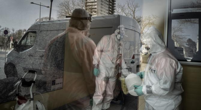 Над 7500 станаха жертвите на коронавируса във Франция