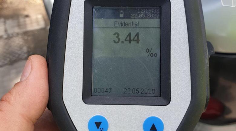 Нов рекорд: Закопчаха 33-годишен шофьор с 3,44 промила алкохол