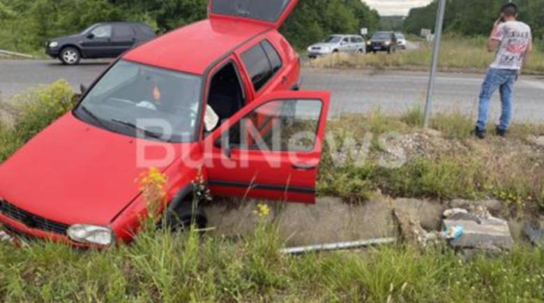18-годишен си купи автомобил и го разби още същия ден