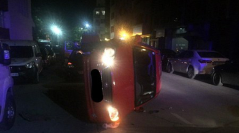 Мъртво пияна преобърна колата си, не помни и как е станало