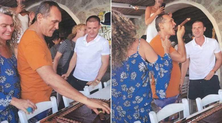 Снимки: Божков на яхта с Бобоков, празнуват рожден ден с Жоро Тениса