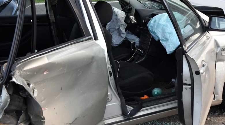 Тежка катастрофа с три коли в Горна Оряховица