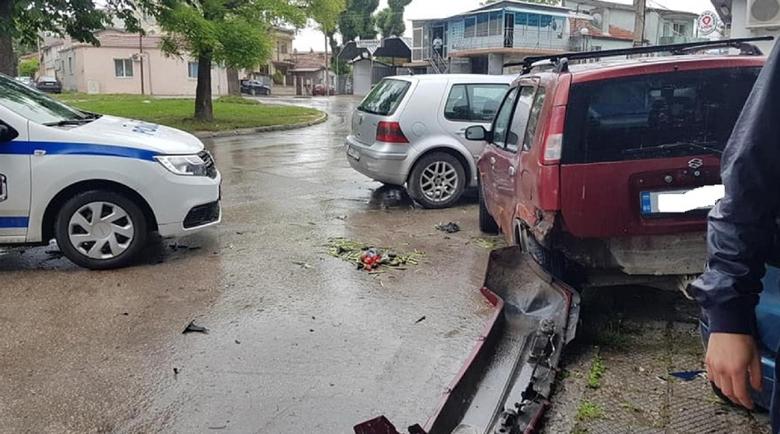 Дрогираният шофьор, помлял 7 коли във Варна, с 30 нарушения на пътя