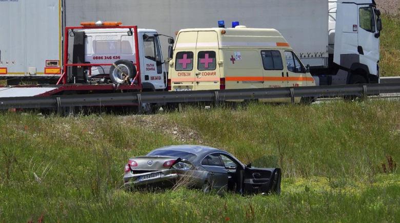 """Лейтенант от НСО изхвърча с колата си на """"Ботевградско шосе"""""""