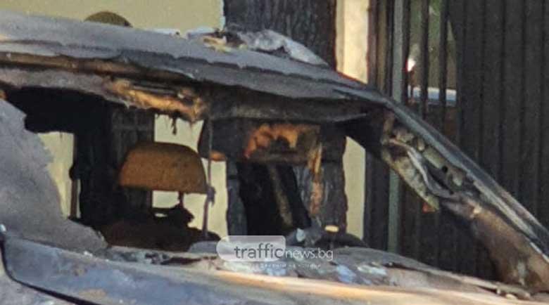 Запалиха колите на пловдивски бизнесмен, съдружник на двоен убиец