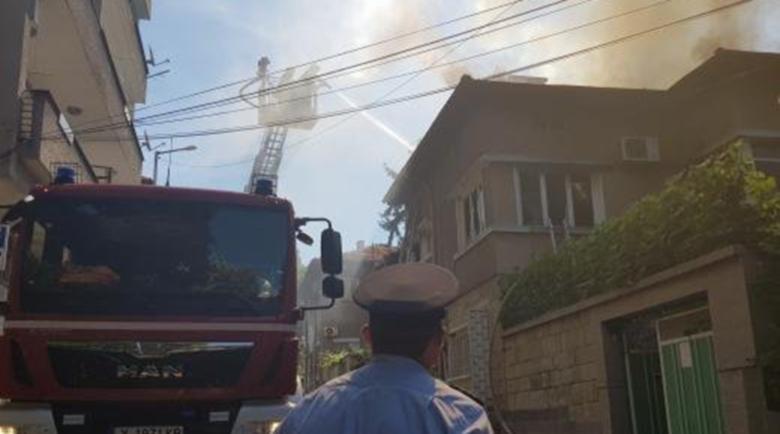 Незагасен фас подпали центъра на Хасково