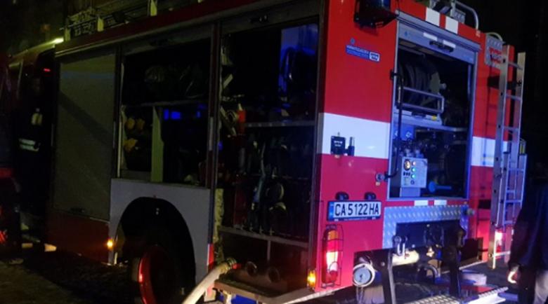 Мъж изгоря при пожар в Банско, заспал с цигара в устата