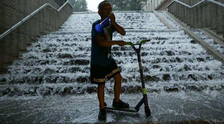 Аварийни екипи разчистват паднали клони и дървета след бурята в София
