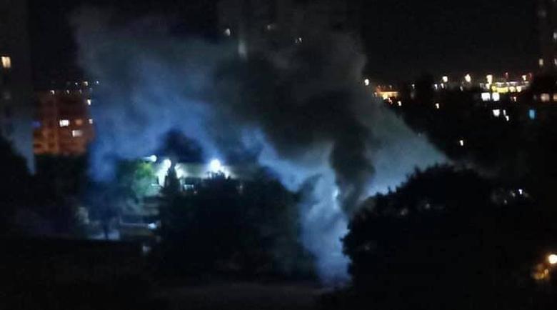 """Силен взрив и гъст пушек стреснаха хората в """"Слатина"""""""