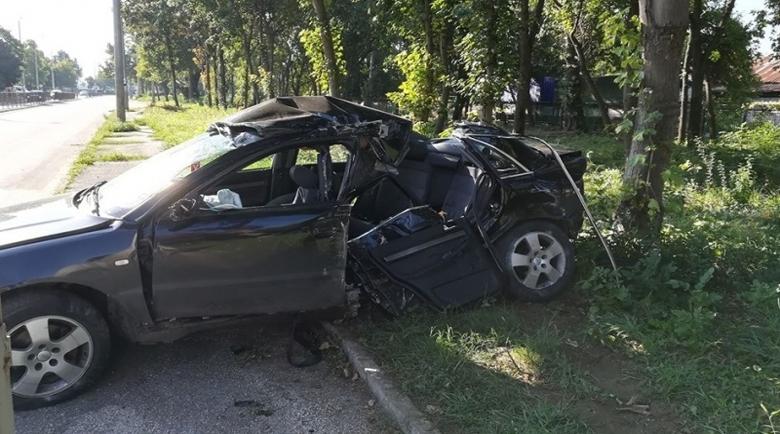 """Борят се за живота на пострадала при катастрофата на бул. """"Панония"""" във Видин"""