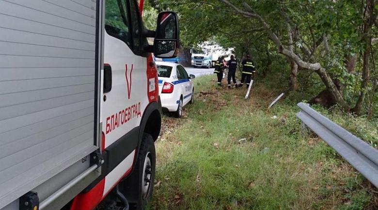 Гастарбайтер от Германия падна с колата в Струма, издъхна на място