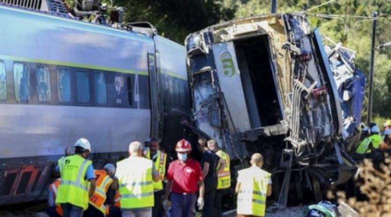 Тежка катастрофа с влак в Португалия, има загинали и ранени