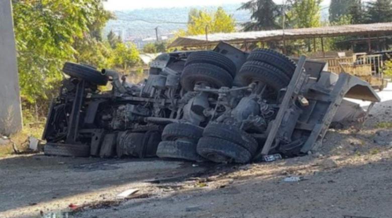 Версиите: Защо камионът падна от Аспаруховия мост?!