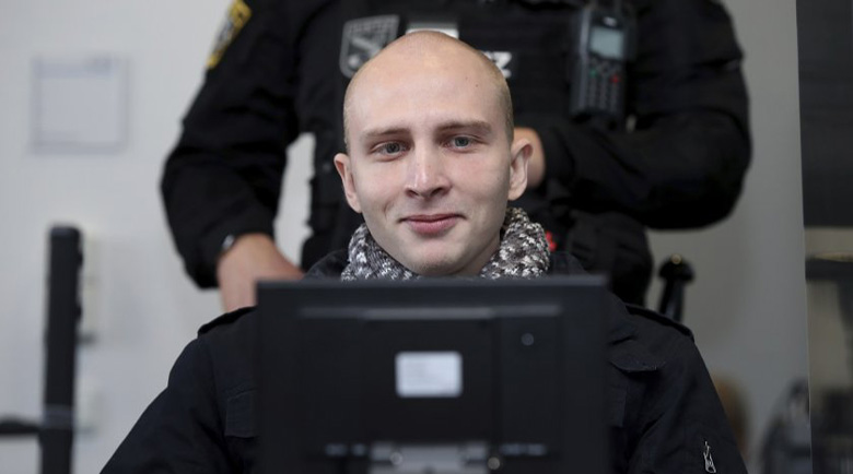 Доживотен затвор за нападателя от Хале