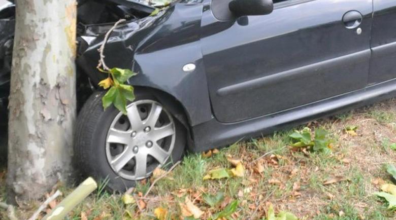 25-годишен загина след удар в крайпътно дърво