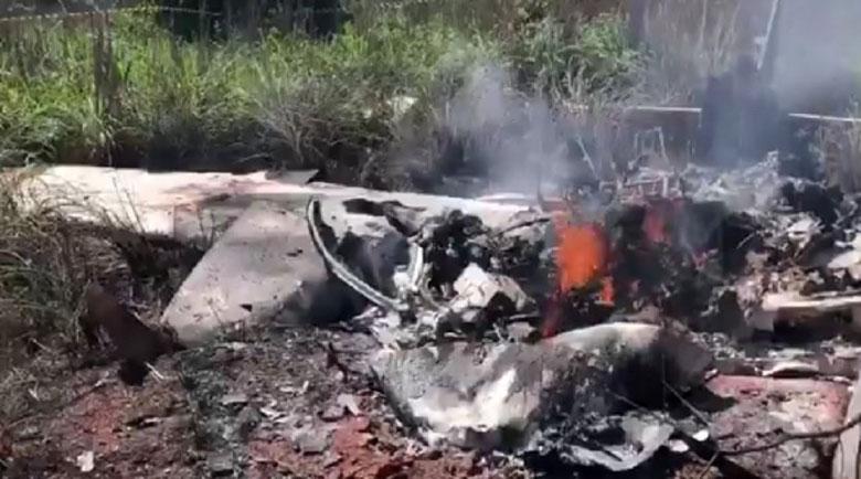 Самолет с футболисти се разби в Бразилия