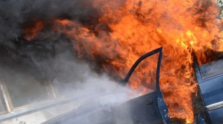 Търсят изоставен и опожарен автомобил след обира на инкасото