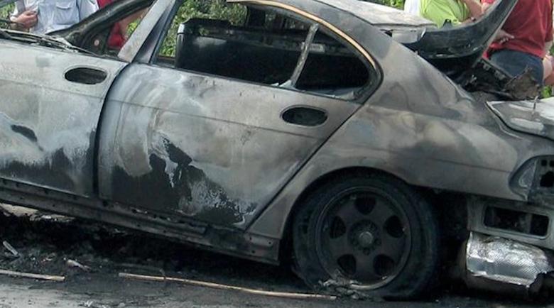 """Потвърдено: Опожарен автомобил e свързан с убийството на """"Герена"""""""