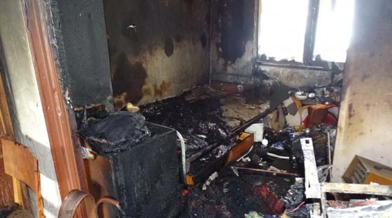 Телевизор прати жена в болницата в Благоевград