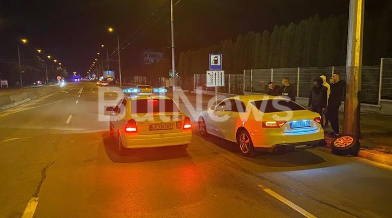 """Тежка катастрофа с """"Ауди"""" и мотор във Враца, има пострадал"""