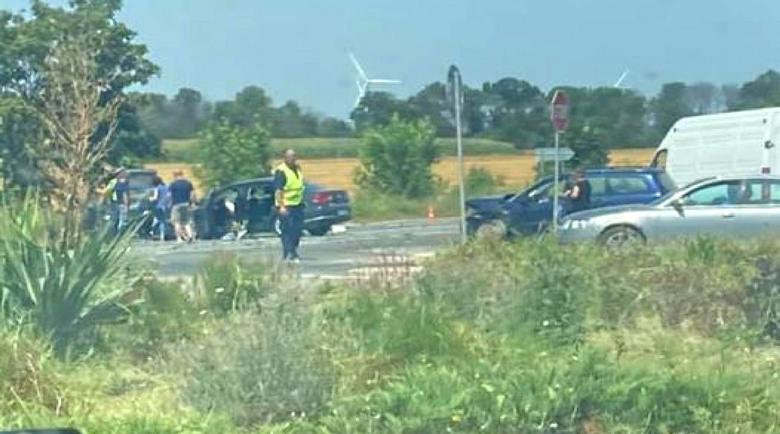 Меле край Варна! Четири жени пострадаха при верижна катастрофа
