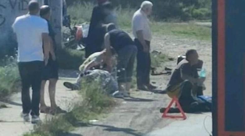 Тежка катастрофа между Монтана и Видин с кола и мотор