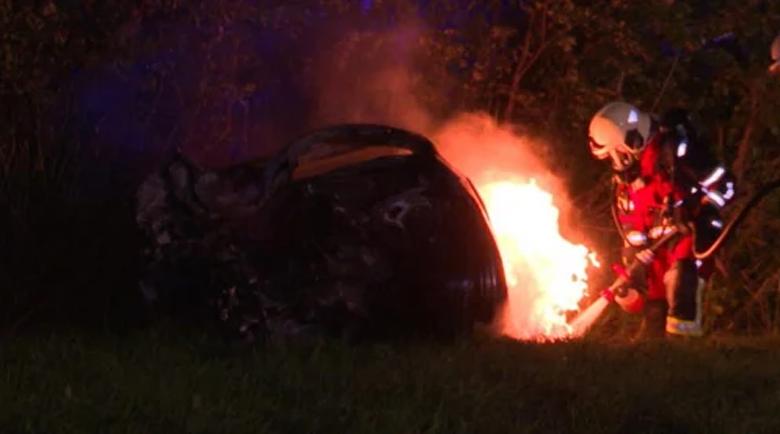 Трима младежи изгоряха живи при адска катастрофа в Германия